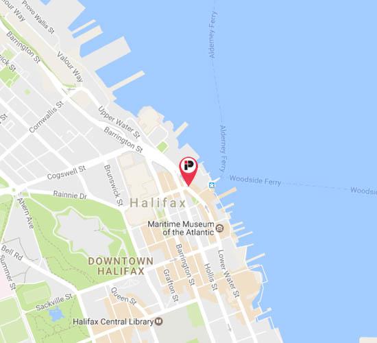 24 Halifax Vanity For Undermount Sink: Halifax Parking