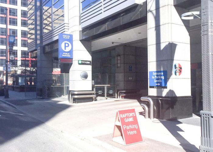 Toronto Simcoe Place Parking Garage